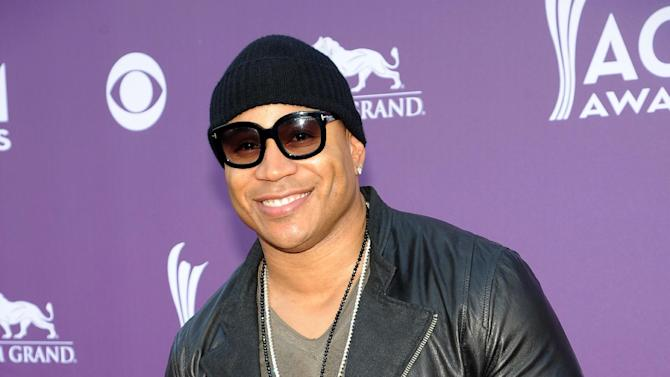Rapper/actor LL Cool J arrives at the 48th Annual Academy of Country Music Awards at the MGM Grand Garden Arena in Las Vegas on Sunday, April 7, 2013. (Photo by Al Powers/Invision/AP)