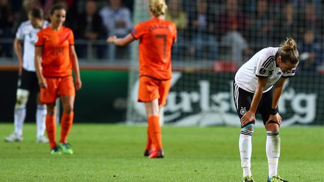Women's Euro - Germany held by Netherlands