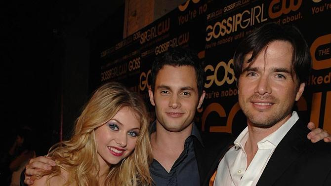 """Taylor Momsen, Penn Badgley and Matthew Settle arrive at """"Gossip Girl"""" premiere party at TenJune."""