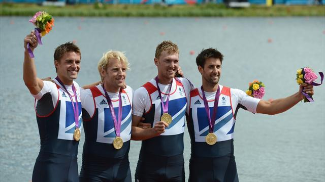 Rowing - Olympic rowing hero James retires