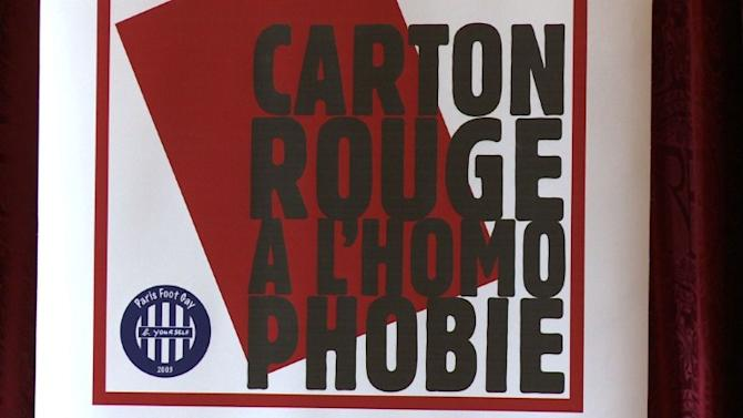 French pro football marred by homophobia: report