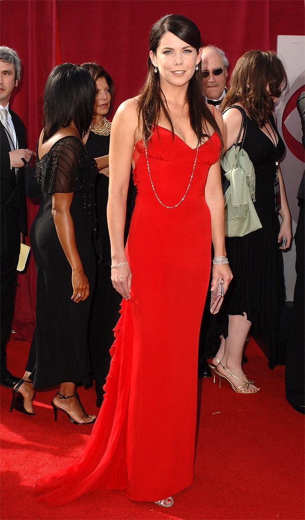 Lauren Graham at The 57th Annual Primetime Emmy Awards.