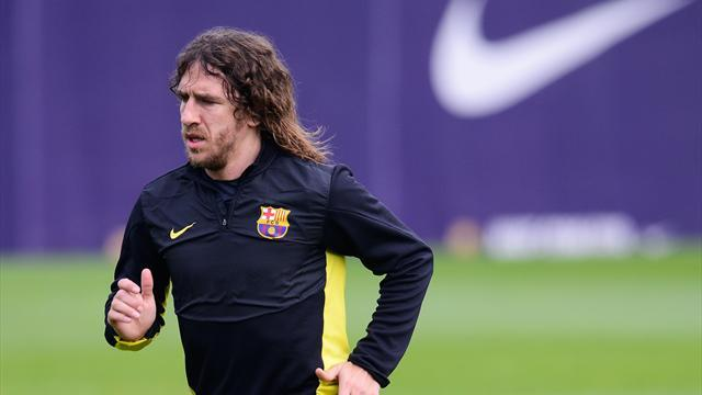 Liga - Captain Puyol joins lengthy list of Barca abentees