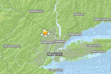 Did Sandy Cause New Jersey Earthquake?