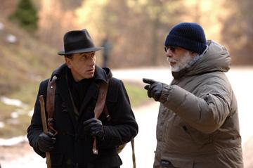 Tim Roth and director Francis Ford Coppola on the set of Sony Pictures Classics' Youth Without Youth