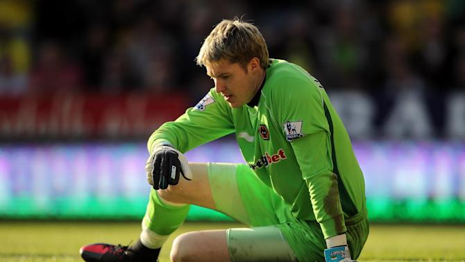 Goalkeeper Wayne Hennessey is expected to be out for '10 or 11 months'