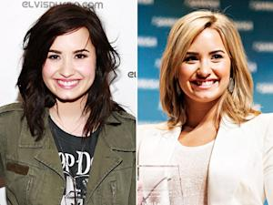Demi Lovato Goes Back to Blonde Hair: Picture