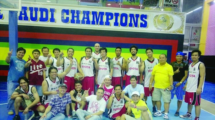 Toyota clinches Inter-Company B crown in OFBL