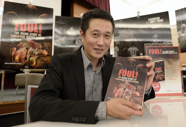 In a book about Singapore's deep links with global match-fixing, local investigative journalist Zaihan Mohamed Yusof, pictured, said authorities swooped on Dan Tan's gang after uncovering plan
