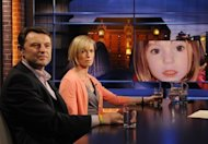 "Gerry and Kate McCann, whose daughter Madeleine went missing from her family's holiday flat in the Algarve in 2007, appear on the ""Beckmann"" TV in Hamburg, Germany, last September. British police said Wednesday it was possible that Madeleine was still alive"