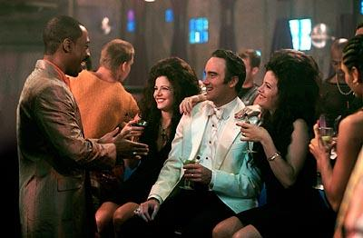 Eddie Murphy , Heidi Kramer , Jay Mohr and Alissa Kramer in The Adventures of Pluto Nash