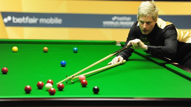Snooker - Robertson, Ding sweep into China Open final