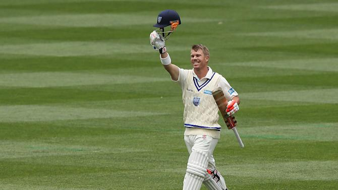 Sheffield Shield - Bushrangers v Blues: Day 2