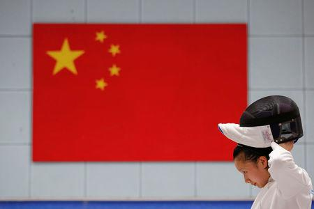 The Wider Image: China's Olympic schools