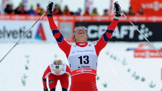 Cross-Country Skiing - Bjoergen and Kriukov win World Championship golds
