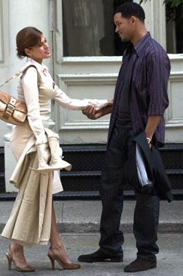 Eva Mendes and Will Smith in Columbia Pictures' Hitch