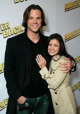 Jared Padalecki and Sandra McCoy at the Los Angeles premiere of Summit Entertainment's Never Back Down