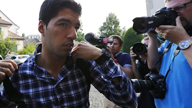Liga - FIFPro calls for Suarez ban reduction as appeal takes place