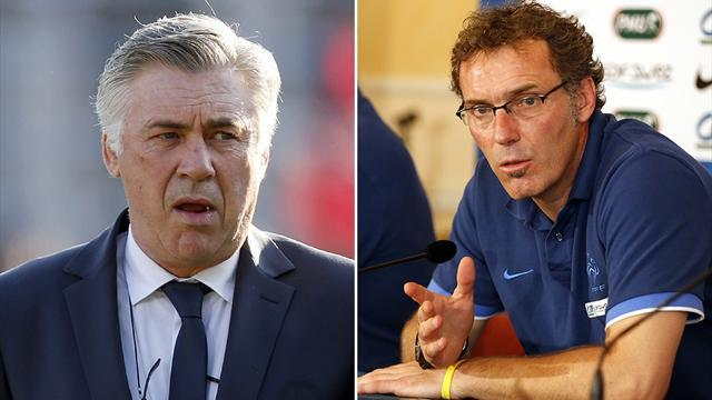 Liga - Blanc takes over at PSG as Ancelotti joins Real Madrid