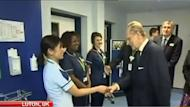 The Duke of Edinburgh has made another racist gaffe, this time during a hospital visit in the UK.