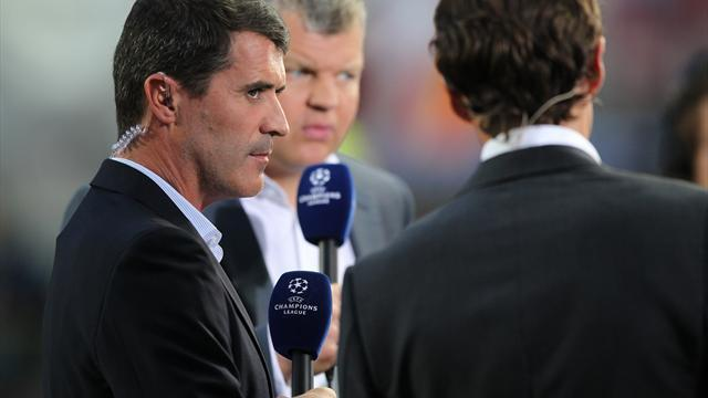 Champions League - Keane seethes at 'flat' United