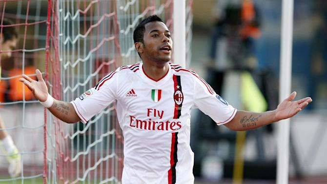 Serie A - Robinho agent reveals two teams interested