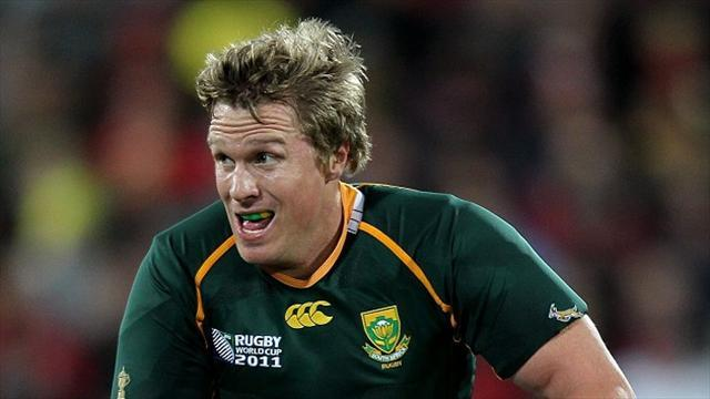 Rugby - De Villiers warns Wales of 'best shape ever' Springboks