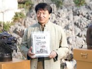 Jackie Chan gives new zodiac statues for museum