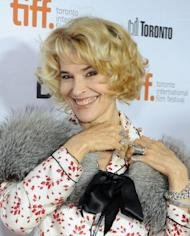 """Actress Fanny Ardant attends the """"Bright Days Ahead"""" premiere during the 2013 Toronto International Film Festival at Roy Thomson Hall on September 13, 2013 in Toronto, Canada"""