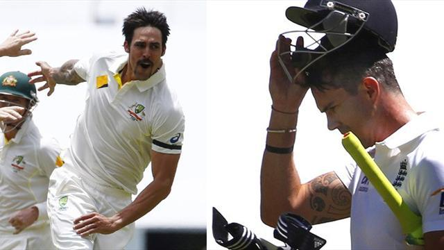 Ashes - Hapless England blown away by fearsome Johnson