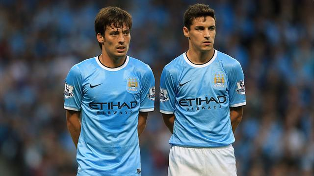 Football - Silva returns for Manchester derby