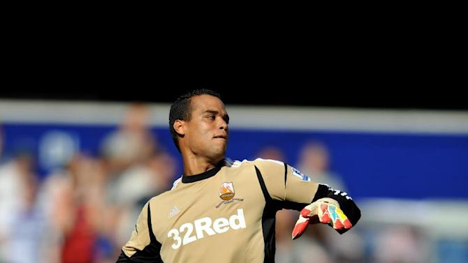 Swansea goalkeeper Michel Vorm is in talks over a new contract