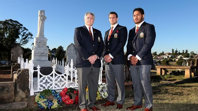 Rugby - Lions pay Seddon tribute