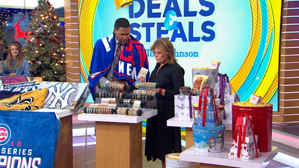 Good Morning America Live Tickets : Deals and steals last minute holiday gifts watch the