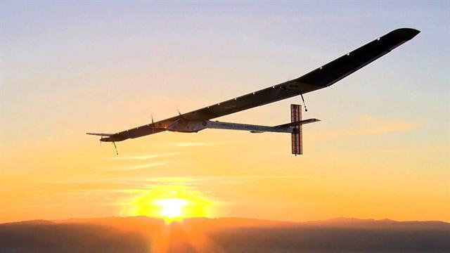Defying gravity: A solar flight