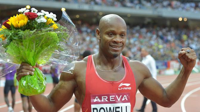 Athletics - Asafa Powell claims 100m in Paris, Shelly-Ann Fraser-Pryce also wins