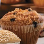 Cosi's Raisin Bran muffin
