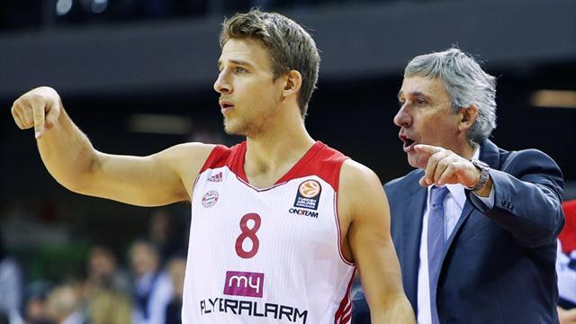Basketball - Bayern, Partizan advance to Euroleague 16