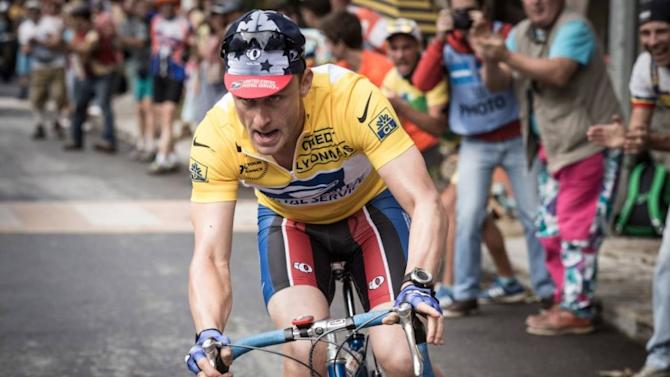Snapshot: here's the first picture of actor Ben Foster as Lance Armstrong
