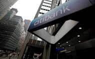 The sign to a Citibank branch is seen in Manhattan in 2010. Leading US banks Citigroup, Ally, Suntrust and MetLife failed stress tests to check their ability to weather another deep recession, according to Federal Reserve data released Tuesday