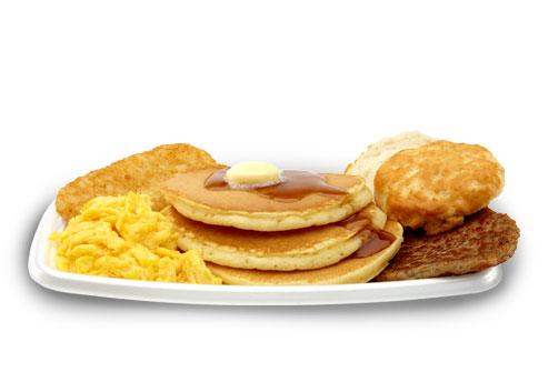McDonald's Big Breakfast with Hot Cakes