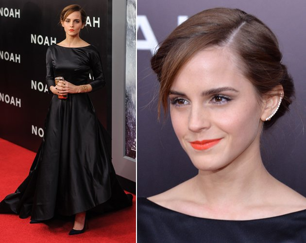 Emma Watson bezauberte in New York ganz in Schwarz (Bilder: Getty Images, WENN)