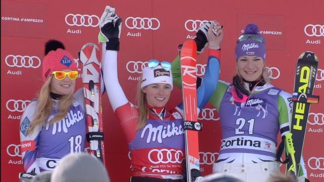 Alpine Skiing - Gut back to winning ways and outspoken manner