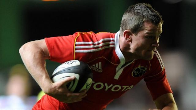 RaboDirect Pro12 - Munster close in on home semi-final with win