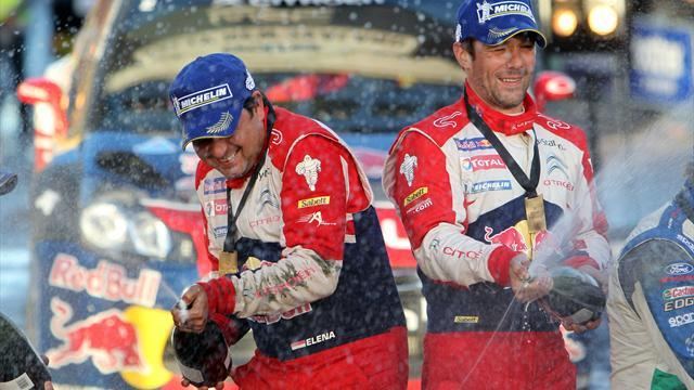 Motorsports - Loeb wraps up New Zealand Rally