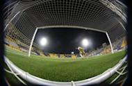 File photo of a football match recently played in Doha. Football's ruling body FIFA is investigating claims that over 300 matches on three continents were influenced by match-fixers, according to The Daily Telegraph