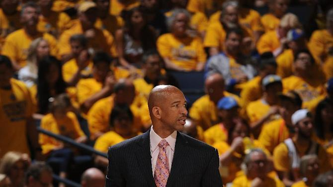 Pelicans coach says Warriors arena noise might be too loud