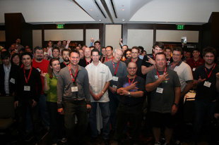 JS Conf Crowd shot on Flickr