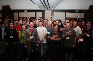 JS Conf Crowd shot on Flickr