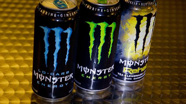Monster Drinks to Get Caffeine Labels